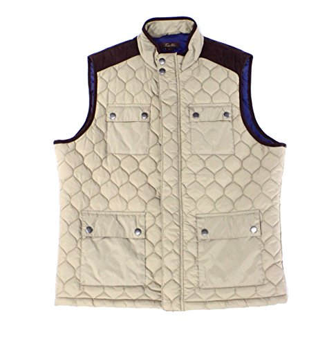 Quilted Faux Suede Vest - 9
