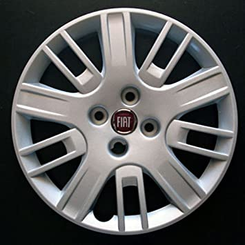 Set of 4 new wheel trims for Fiat Doblo with original rims in 15 inches