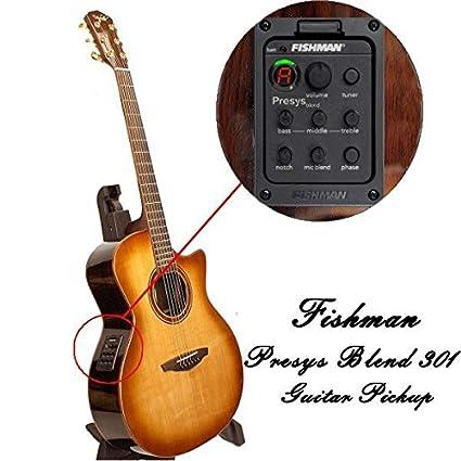 Amazon Com Fishman Presys Blend 301 Folk Acoustic Guitar Pickups