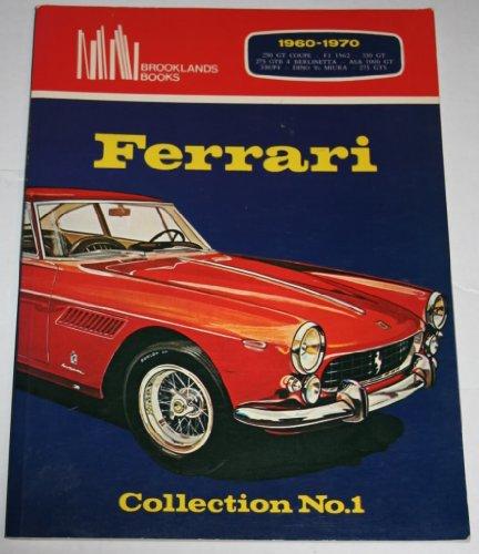 Ferrari Collection No.1 : 1960-1970 : 250 GT Coupe : F1 1962 : 330 GT : 275 GTB 4 BERLINETTA : ASA 1000 GT : 330/P4 : DINO Vs MIURA (330 Coupe)