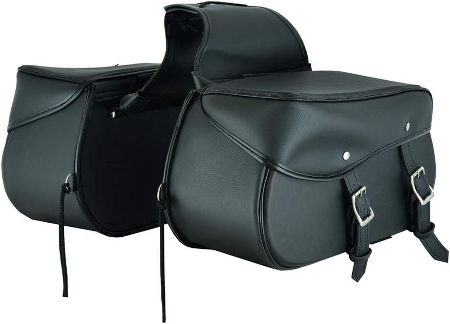 Equipo Organizador de Almacenamiento Asiento Paquete Alforja Impermeable Caja de Almacenamiento Motocicleta Moto Alforja de Cuero