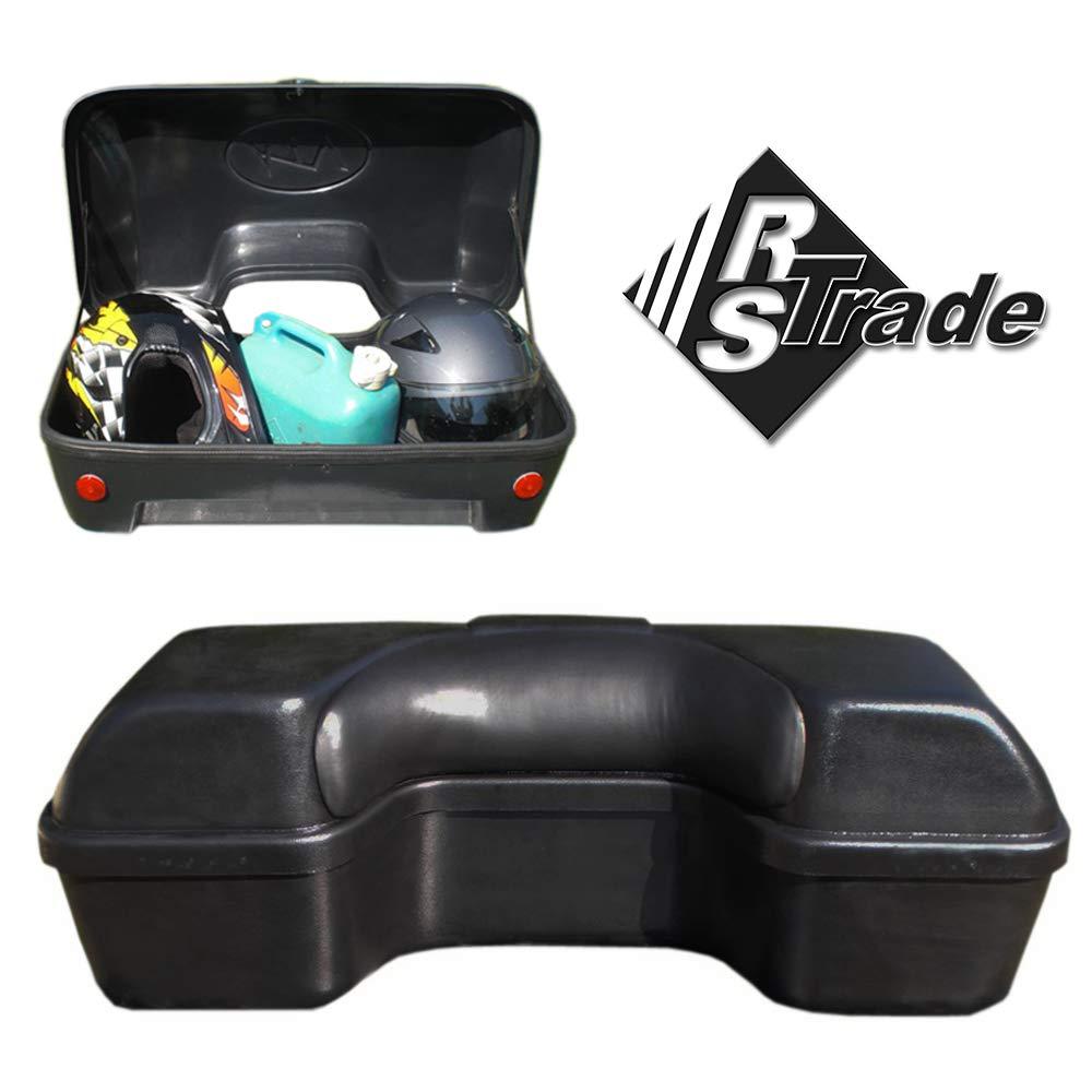 Maleta de 90 litros quad - atv y trike transporte universal bolsa hecha de plástico, incluyendo las cerraduras de seguridad, respaldo, material de ...