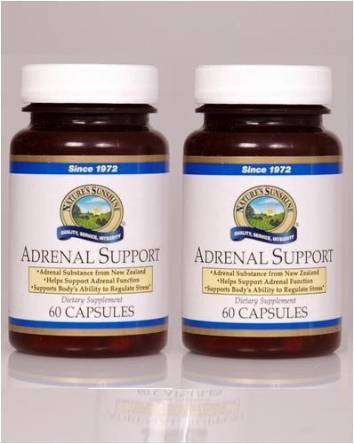 Système Naturessunshine Soutien Soutien immunitaire surrénale 60 Capsules (pack de 2)