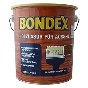 Bondex - Recubrimiento protector de maderas exteriores 729 teca (0,75 l)