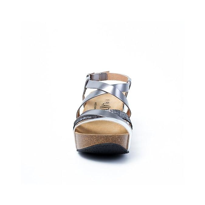 PLAKTON So Song Noir Plomb Gris 39 Chaussures de Gymnastique Homme ... 4e465d2b1614