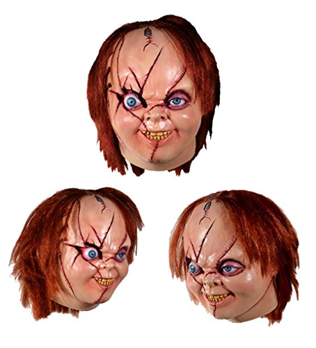 Adult size Bride of Chucky Mask - Chucky Mask Version (Chucky's Bride Costume For Adults)