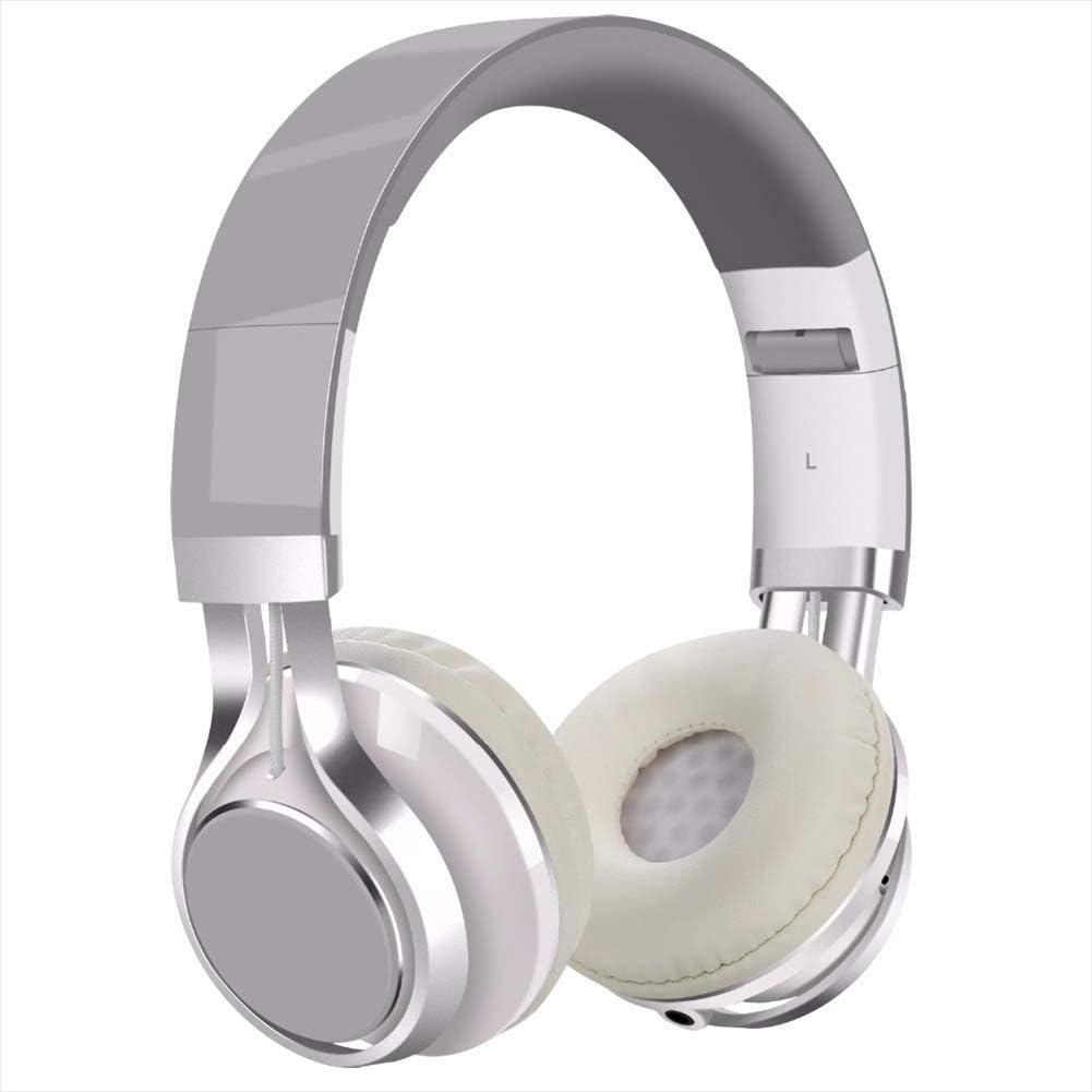 NOCTIC - Auriculares inalámbricos con micrófono, suaves y ligeros para iPhone/Samsung/PC/TV/Viajes-4: Amazon.es: Electrónica