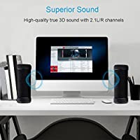 GGSDY Portable Wireless Bluetooth Speaker,3D Stereo Surround Sound,Full 360 degree Sound,Up to 18 Hours Playback Time,Waterproof and Shockproof,Suitable for Indoors or Outdoors by GGSDY