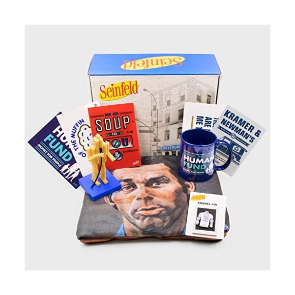 Culturefly Seinfeld Collector's Box - Officially Licensed - 5 Exclusive Items - Gift Box | NEW COMEDY TRAILERS | ComedyTrailers.com