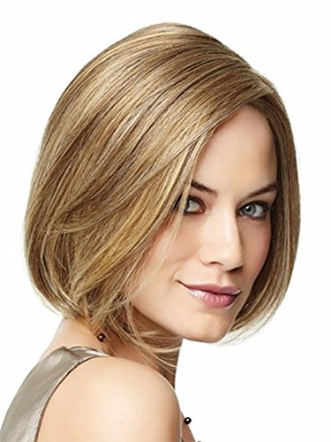 Women Blonde Short Straight Halloween