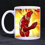 "The Flash Running TV Series Custom Ceramic White Mug Tea/Coffee Cup 3.23""W x 3.74""H One Side"