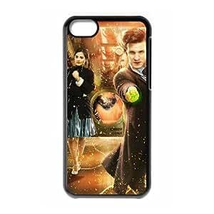 Doctor Who Funda iPhone 5c Funda Caja del teléfono celular Negro Y5E6MW