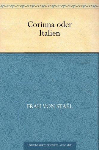 Corinna Print - Corinna oder Italien (German Edition)