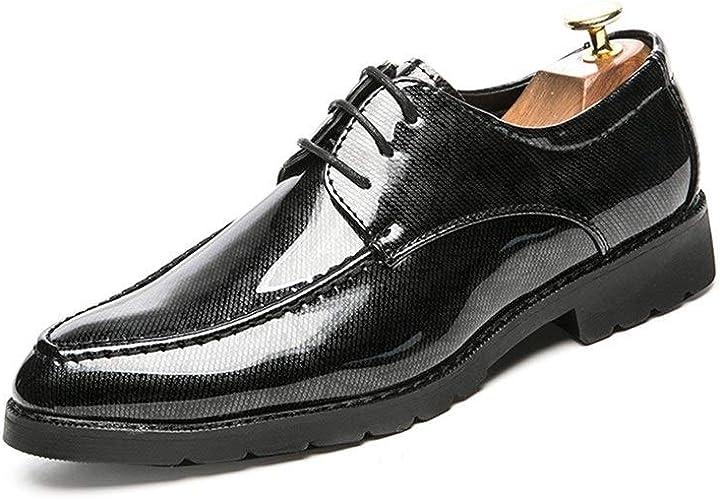 Shoes Men Dress Patent Leather