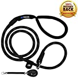 Best Dog Leash For Pullings - Tifereth Slip Lead Dog Leash Extremely Durable Strong Review