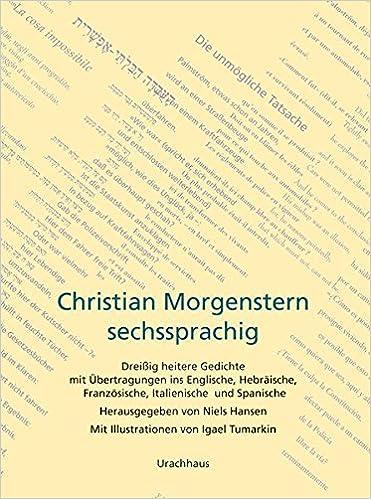 Christian Morgenstern Dreissig Heitere Gedichte Mit