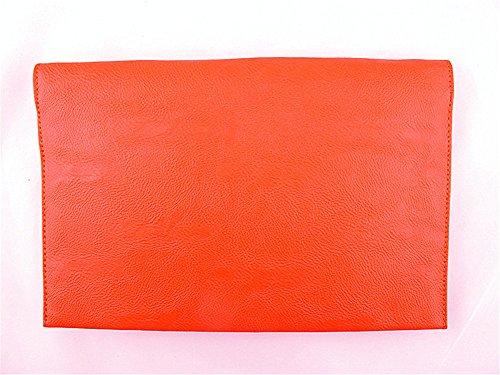 Flada - Cartera de mano para mujer naranja naranja mediano