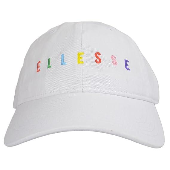 ellesse Olla Optic White Baseball Cap One Size  Amazon.co.uk  Clothing 3b8cc08797d