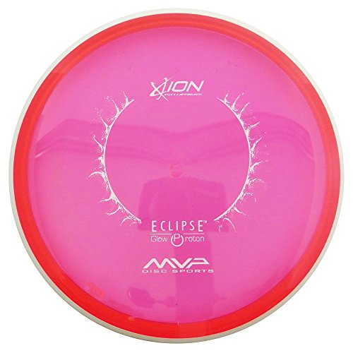 MVP Disc Sports Eclipse Proton Glow Ion Putter Golf Disc [Colors May Vary] - 150-159g