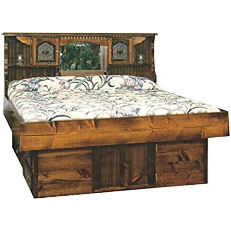 Strobel Organic Independence Complete Waterbed Premium Solid White Pine Unfinished King