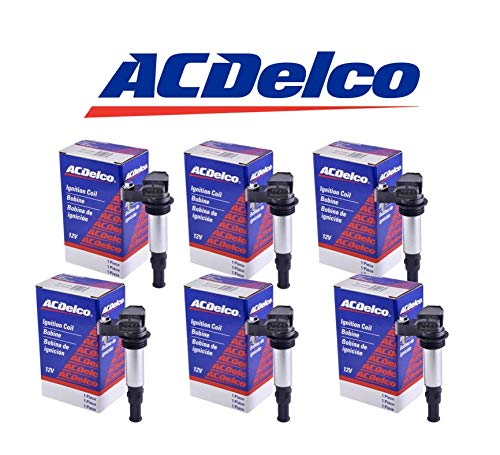 Acdelco Ignition Coil D501c 12613057 12629037 6 Pack