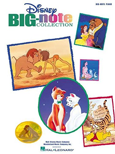 Disney Collection Songbook - Disney Big-Note Collection (Big-Note Piano)
