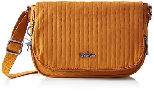 Kipling Earthbeat S, Bolso Bandolera para Mujer Amarillo (L43 Craft Ochre)