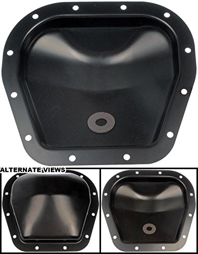 APDTY 708816 Rear Diff Differential 12-Bolt Cover w//Magnet Fits 9.75 Ring Gear On Select Ford E-150 F-150 F150 Expedition Lincoln Blackwood Mark LT Navigator Replaces F75Z-4033AA, BL3Z4033A