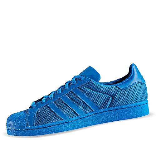 blue S75880 001 Adidas Mehrfarbig Blanc noir Superstar Basket q1Hv1