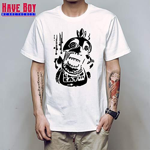 - KoreaFashion FNAF Shirt Cotton Merch Shirts for Boys Girls Womens Mens Youth Birthday Welcome Funny Nightmare Coloring