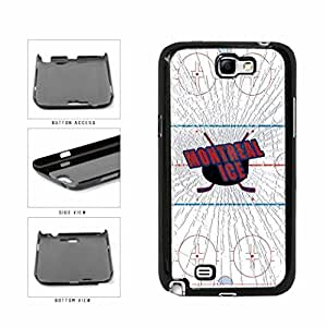 Montreal Ice Plastic Phone Case Back Cover Samsung Galaxy Note II 2 N7100