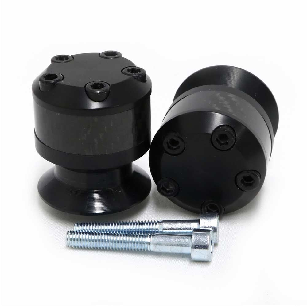 Black 2014-2017 Yamaha FZ09 2016-2019 Yamaha XSR900 2015-2017 Yamaha FJ09 2018 Yamaha MT-09 Swingarm Spools Sliders MADE IN THE USA Shogun Motorsports 701-0629