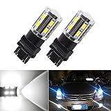 SD 2 X Cree led Bulbs 3056 3156 3057 3157 - For car DRL Fog Brake Lights Turn Signal Tail Lamps - Xenon White