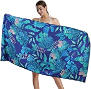 """CHARS Microfiber Quick Drying Beach Towels (30"""" x 60"""") with a Carrying Bag, Super Absorbent Towel, S"""