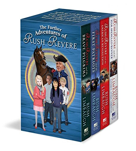 The Further Adventures of Rush Revere: Rush Revere and the Brave Pilgrims / Rush Revere and the First Patriots / Rush Revere and the American Revolution / Rush Revere and the Star-Spangled Banner by Threshold Editions (Image #1)
