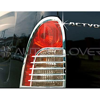Amazon Chrome Tail Light Cover For 2006 2010 Ssangyong Actyon