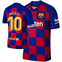 Barcelona Home KIT 2019-20 with MEESI Print ONLY Jersey