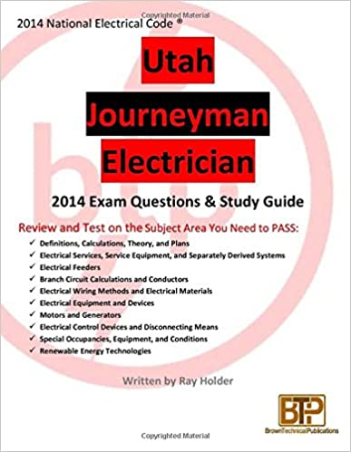 Utah 2014 Journeyman Electrician Study Guide: Ray Holder ...