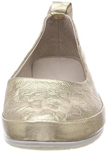 Andrea Conti Damen 0025762 Geschlossene Ballerinas Gold (Gold)