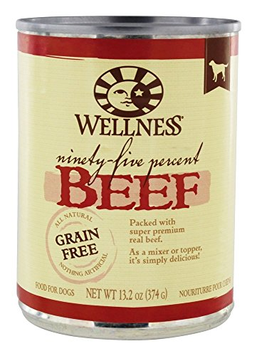 Wellness Pet – Grain Free Dog Food 95% Beef – 13.2 oz.