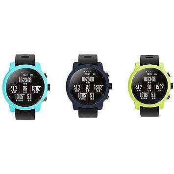 UKCOCO 3 Piezas Ultra Delgado de Goma de Silicona Elegante Reloj ...