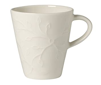 Villeroy & Boch Caffè Club Floral Touch Taza de expreso, 100 ml, Porcelana Premium