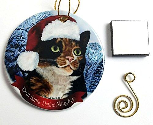 Porcelain Cat Magnets - 1