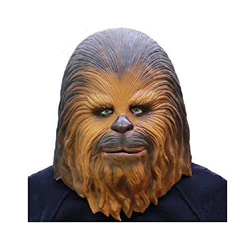 Chewbacca Mask - Star Wars Mask Made in Japan - Teen/Adult Size -