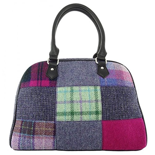 Patchwork 4 Lb1022 Available Tweed Handbag Harris Colours In Col56 Ladies fwBqO7w