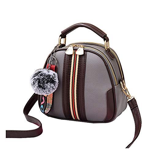 Crossbody Grey Bags handle Top Tibes Ladies Bag Handbags Satchel Shoulder B Women gqZWAP6TW