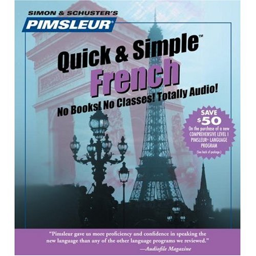 pimsleur quick and simple course french
