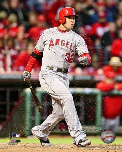 Josh Hamilton Los Angeles Angels 2013 MLB Action Photo 8x10 ()