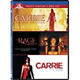 Carrie Triple Feature: Carrie (1976) / The Rage: Carrie 2 / Carrie (2002)