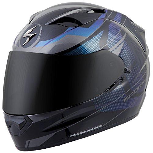 ScorpionExo EXO-T1200 Mainstay Full Face Helmet (Black/Silver, Medium)